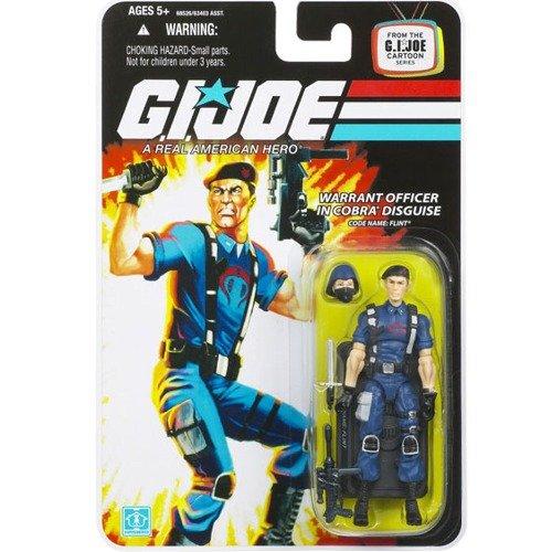 "G.I. JOE Hasbro 3 3/4"" Wave 11 Action Figure Cobra Flint"