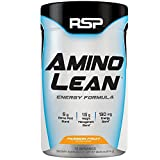 RSP AminoLean - Amino Energy + Fat Burner, Pre Workout, Amino Acids & Weight Loss Powder for Men & Women, Passion Fruit, 70 Servings