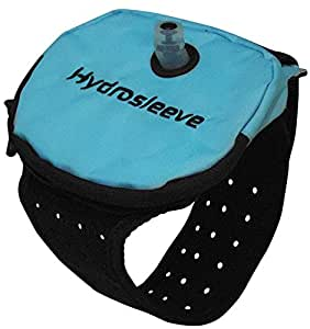 Hydrosleeve Package - Armband Hydration System for Runners and Athletes (Aqua, Small)