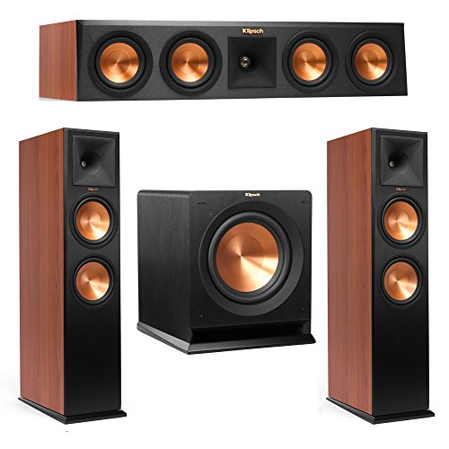 Klipsch 3.1 Cherry System with 2 RP-280F Tower Speakers, 1 R