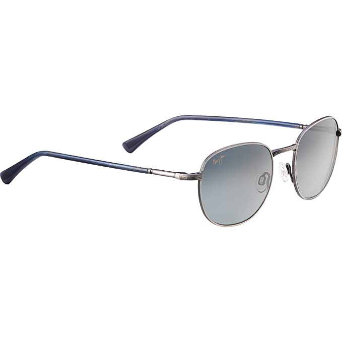 Gafas de sol Maui Jim GS292-17C Gray Ronda: Amazon.es: Ropa ...