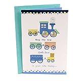Hallmark Baby Shower Card (Train)