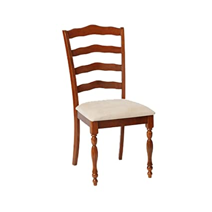 Boraam 21057 Regency Dining Chair, Burnt Walnut (Set Of 2)