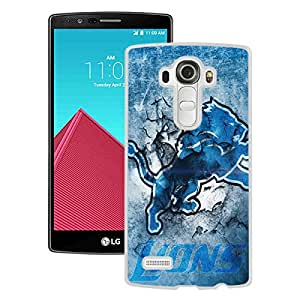 Fashionable And Unique Designed Cover Case With Detroit Lions 30 White For LG G4 Phone Case