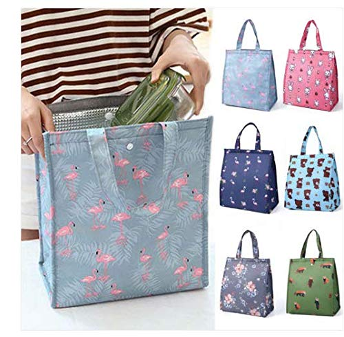 - Elevin(TM)  Cute Women Ladies Girls Kids Portable Insulated Lunch Bag Box Picnic Tote Cooler