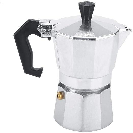 Coffee Pot Moka Pot Cafetera, aluminio Italiano Tipo Moka Pot ...