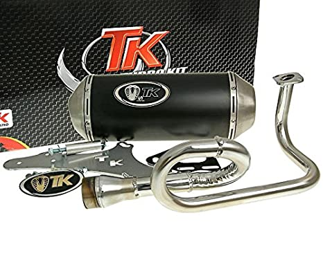 Turbo de escape Kit Gmax 4T - China Roller GY6 50 ccm 4takt: Amazon.es: Coche y moto