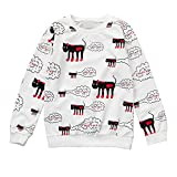 Baby Girl Clothing Clearance Winter Toddler Kids Baby Girls Printing T-Shirt Long Sleeve Pullover Blouses Tops
