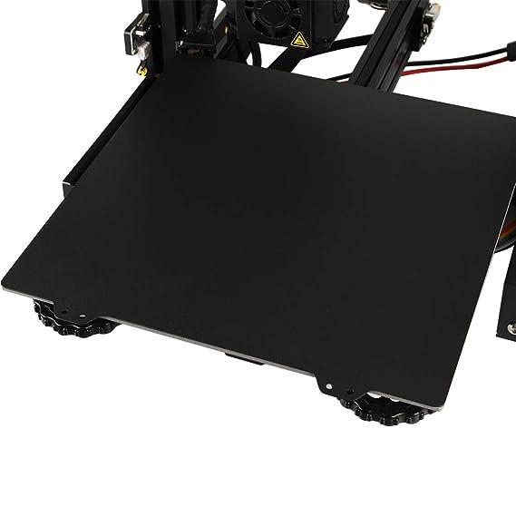 Almencla Hoja de Acero DIY Impresora 3D + Placa Magnética B para ...