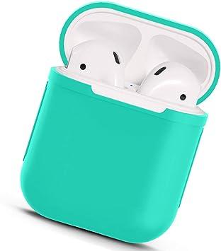 AirPods Funda de Silicona, Delgada y Ligera para Apple AirPods Estuche de Carga: Amazon.es: Electrónica