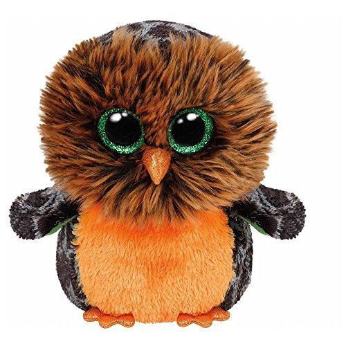 Midnight the Owl Halloween Beanie Boos Stuffed Plush Animal (Halloween Beanie Boo Owl)