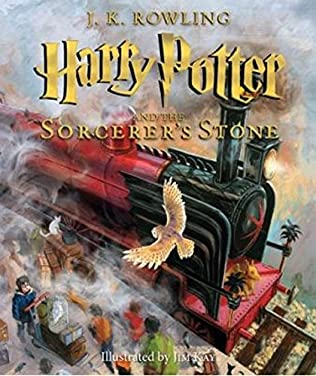 book cover of Harry Potter and the Sorcerer\'s Stone