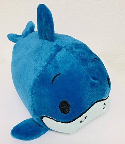 - Bun Bun Adorable Soft Shark Plush Stackable Stuffed Animal Toy - Ocean Marine Animal Toy for All Ages (7 Inches)