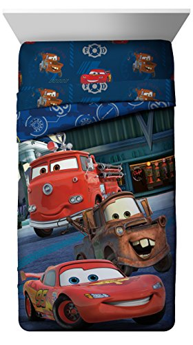 Disney Cars Hometown Reversible Twin Comforter, Hometown Comforter