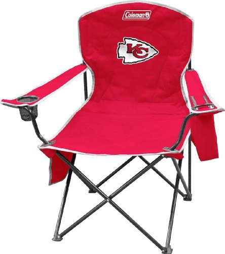 (NFL Portable Folding Chair with Cooler and Carrying)