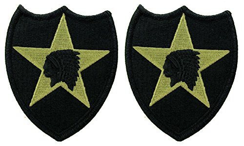 Unit Patch - 2nd Infantry Division OCP Patch - Scorpion W2 - 2 PACK
