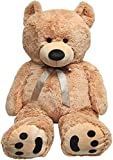 53 inch teddy bear - JOON Huge Teddy Bear - Tan
