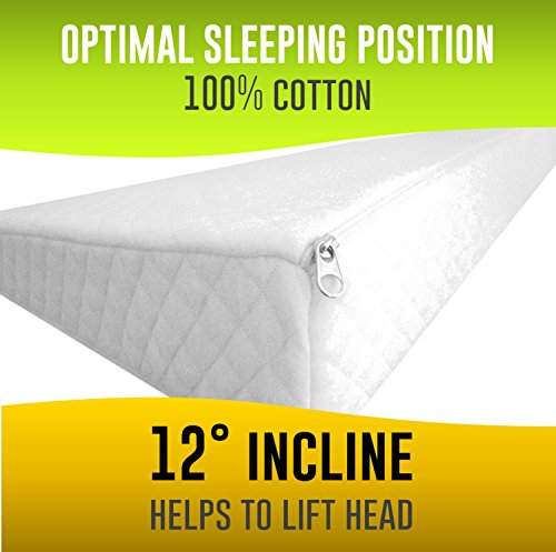 Universal Foldable Crib Wedge And Sleep Positioner With 2