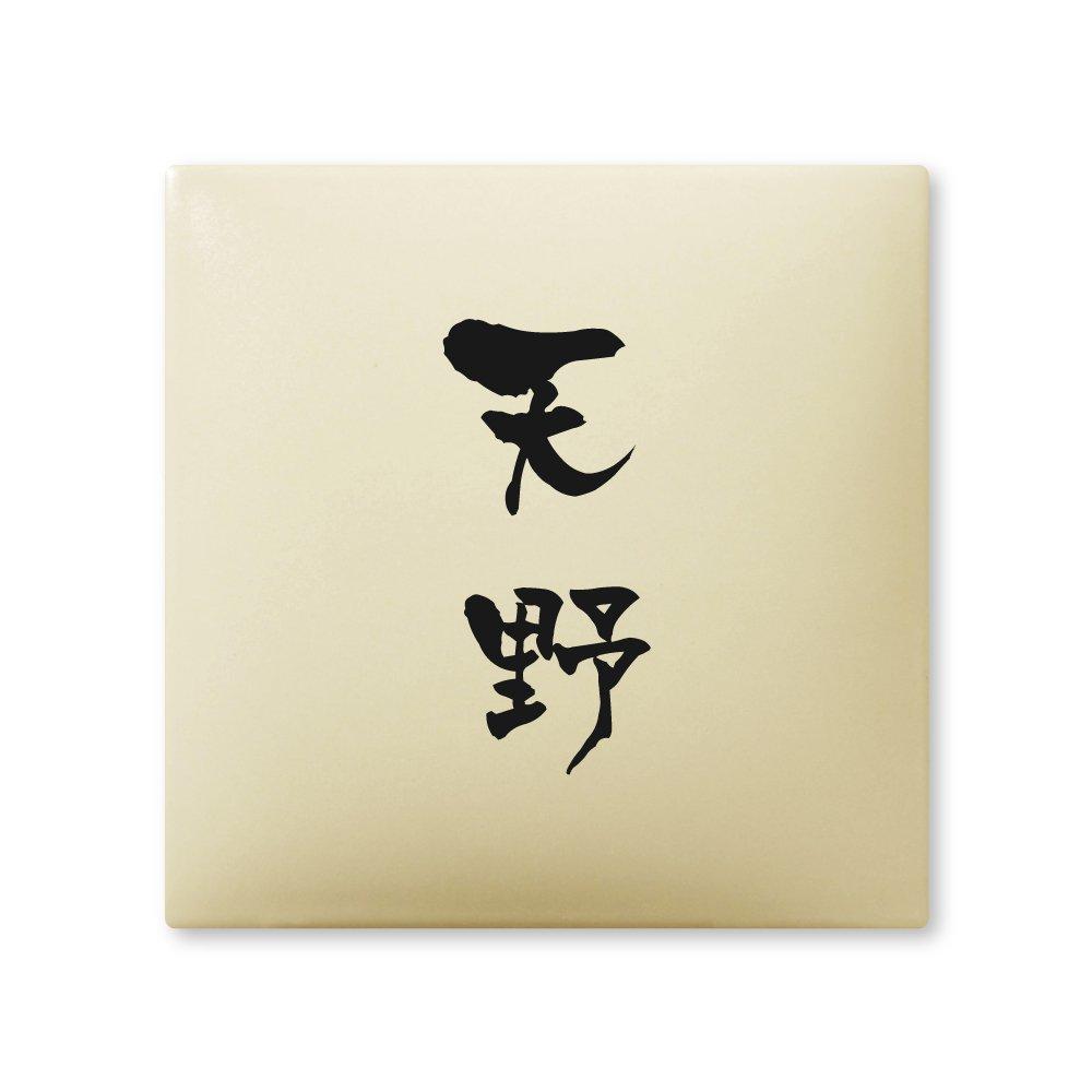 丸三タカギ 彫り込み済表札 【 天野 】 完成品 アークタイル AR-1-2-3-天野   B00RFAH6RI