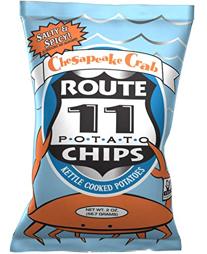 Route 11 Potato Chips : Chesapeake Crab (15 bags (2 oz - Crab Chip