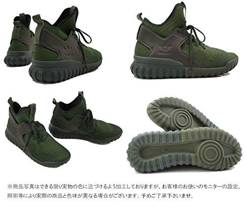 Uomo Scarpe PK Nero Verde da Tubular S76713 adidas X Ginnastica qFn1Yw6x