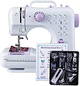12 Ponits máquina de coser multifunción Mini máquina de coser ...