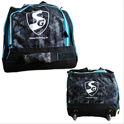 fc6a5291a287 SG Teampak Large Cricket Kit Bag with Wheels and Handle