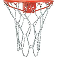 Crown Sporting Goods - Red de Baloncesto para Exterior de Acero galvanizado