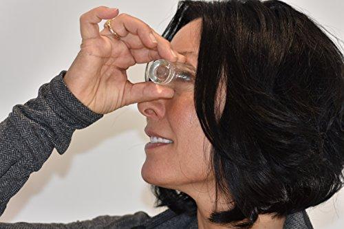Pro-optics Pro Eye Bath Glass Eye Wash Cup with New & Improved Beveled Shape
