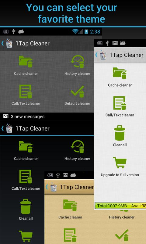 Amazon Com 1tap Cleaner Pro Appstore For Android