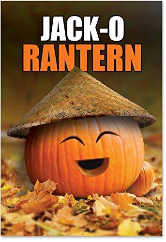 Funny Halloween Cards (1205 'Jack-O Rantern' - Funny Halloween Greeting Card with 5