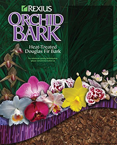 Clear Pots Rexius Douglas Fir Bark for Orchids - Small Chip Size - 2 1/2 Gallon by Clear Pots (Image #2)