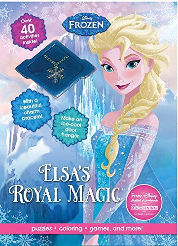 Disney Frozen Elsa's Royal Magic (Activity Book with Necklace) by Parragon Books Ltd (2016-01-01)