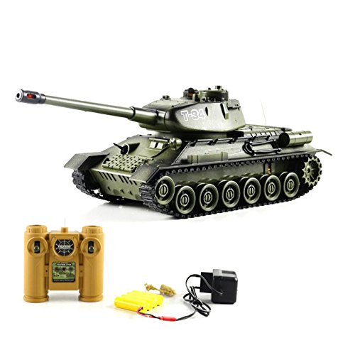 Remote Infrared Ray Against Tanks Luxuriously Charging Remote Control Car Model T - 34 Boy Electric Toy Car # (Dragonfly Remote Control Toy)