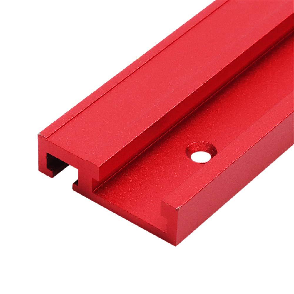Belupai Tringle /à onglet en alliage daluminium Rouge 45 x 12,8 mm