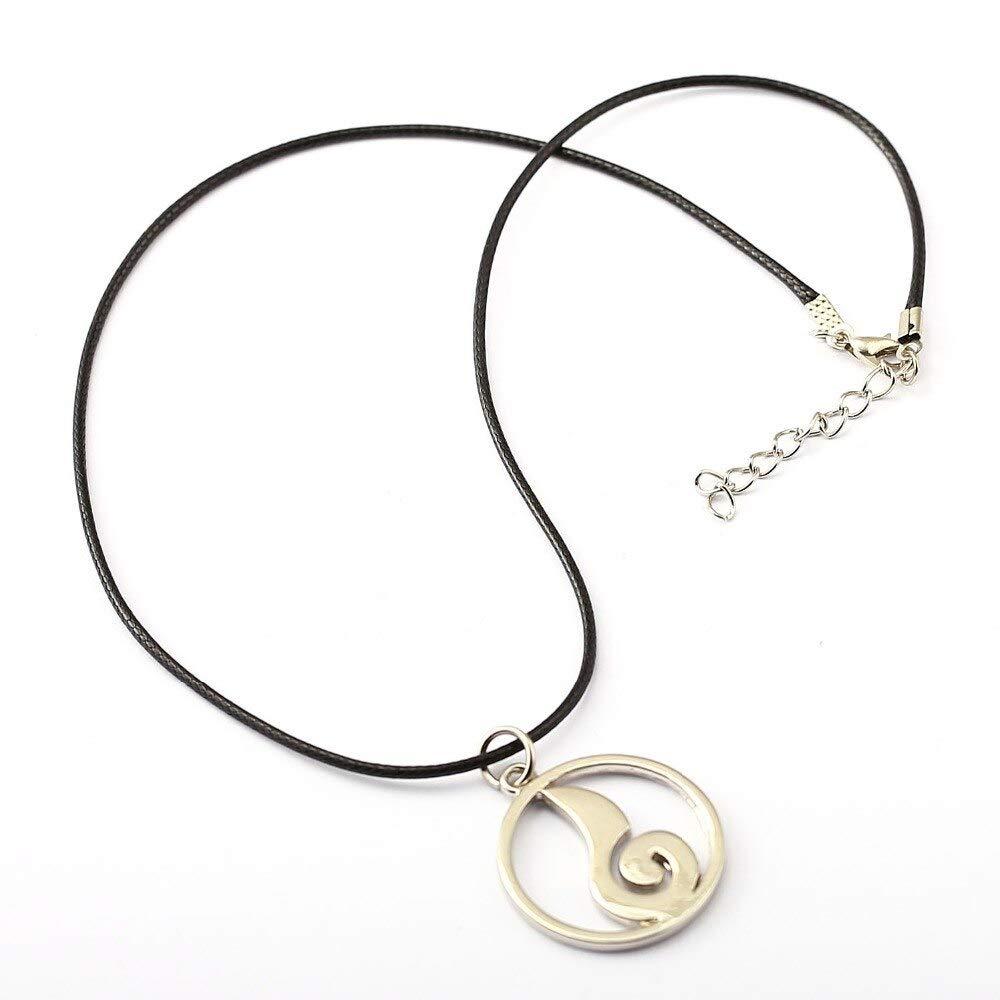 Inveroo Naruto Choker Necklace Uzumaki Naruto Family Logo Pendant Men Women Gift Anime Jewelry Accessories
