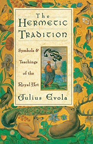 Book cover from The Hermetic Tradition: Symbols and Teachings of the Royal Art by Julius Evola