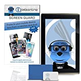 iTALKonline Asus EEE Pad Transformer Clear Transparent 10 Pack LCD Screen Protector Guard with MicroFibre Cleaning Cloth and Application Card