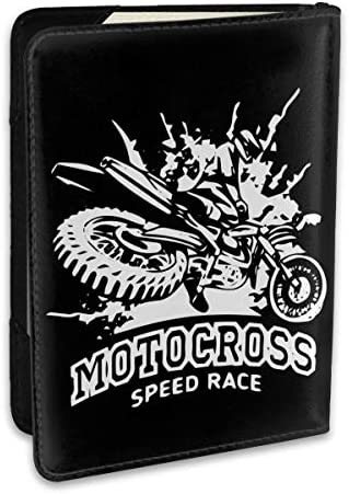 MOTOCROSS SPEED RACE ロッキー・バルボア パスポートケース パスポートカバー メンズ レディース パスポートバッグ ポーチ 収納カバー PUレザー 多機能収納ポケット 収納抜群 携帯便利 海外旅行 出張 クレジットカード 大容量