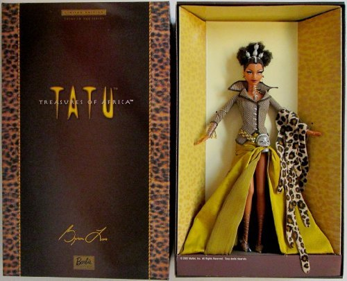 Barbie Barbie Byron Lars Treasures of Africa Tatu (Byron Lars Barbie Dolls)