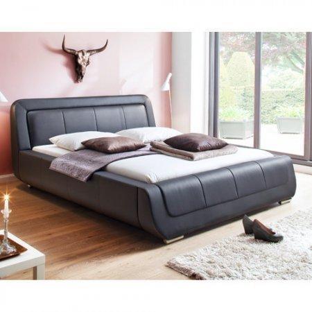 Polsterbett Modena 180x200 Cm Schwarz Günstig Online Kaufen