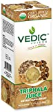 Triphala Juice 500 Milliliter USDA Certified Organic Juice by Vedic Juices