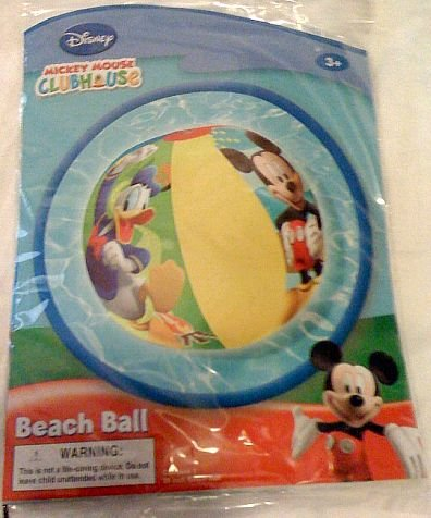 Disney Mickey Mouse Clubhouse Inflatable Beach Ball (Inflatable Clubhouse)