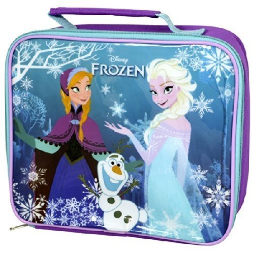 [Disney Frozen Elsa & Anna Insulated Rectangle Lunch Bag] (Anna Costume Ideas)