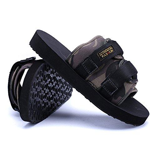 3 Exterior De Camo Zapatillas Wangcui Superficie para Zapatillas Pantuflas tamaño Confortables 1 39 De Camo EU Hombres Color wtfqWgHZxq