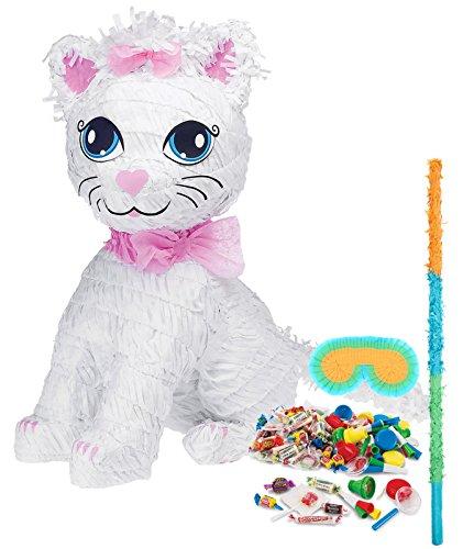 Pretty Kitty Cat Party Supplies - Pinata Kit