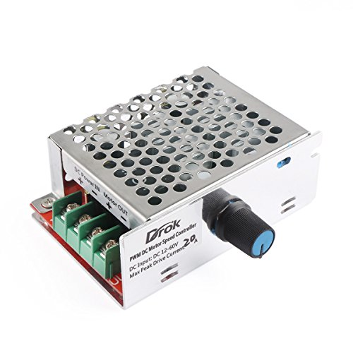 Drok 090487 Pwm Dc Stepper Motor Speed Controller Pulse Width Modulation Step Less Control