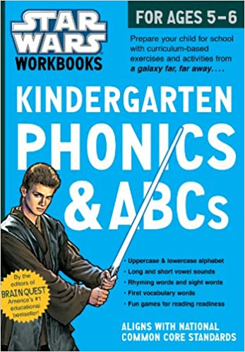 Star Wars Workbook: Kindergarten Phonics and ABCs (Star Wars ...