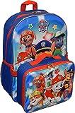 Nickelodeon Paw Patrol Boys'/ Girls' 16' Backpack W/ Detachable Lunch Box (Royal)