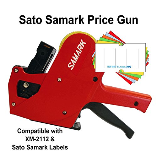 Sato Price Guns (10): Samark8-7 Bulk PRICING [1 Line / 8 Characters] by Infinity Labels